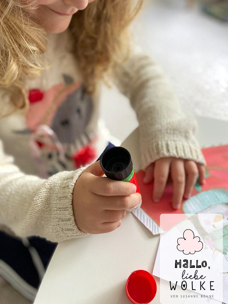 Adventskalender Wilma Wochenwurm von Susanne Bohne Vorlage ausdrucken DIY kostenlos Kinder basteln