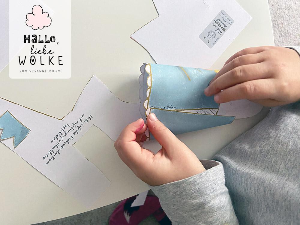 Adventskalender Wilma Wochenwurm von Susanne Bohne Vorlage ausdrucken DIY kostenlos Kinder