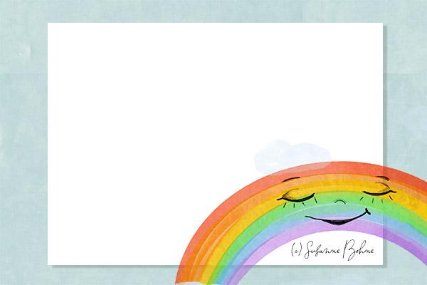 Annegret Einhorn und der Regenbogen - Wie entsteht ein Regenbogen - Geschichte für Kinder in Kita Grundschule Vorschule