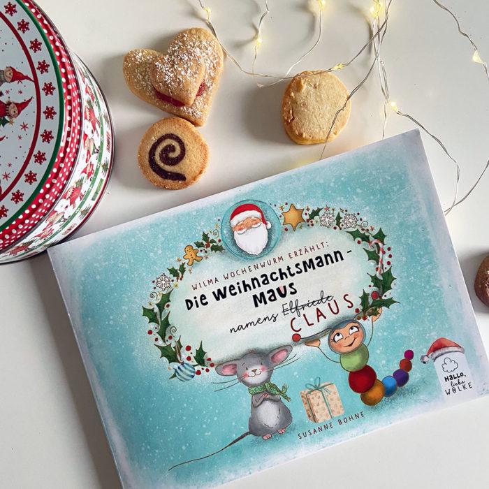 Die Weihnachtsmann-Maus namens Claus von Susanne Bohne