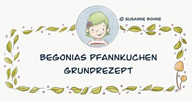 Wilma Wochenwurm Pfannkuchen Grundrezept Kinder Kinderkochbuch
