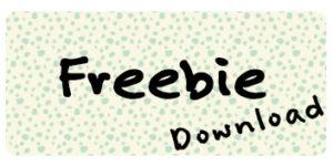 Freebie Download Hallo liebe Wolke Wilma Wochenwurm