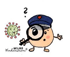 Impfen für Kinder erklärt Wilma Wochenwurm erklärt Was ist Impfen Halsweh Lerngeschichte Kinderbuch Impfung Kita Grundschule Immunabwehr von Susanne Bohne