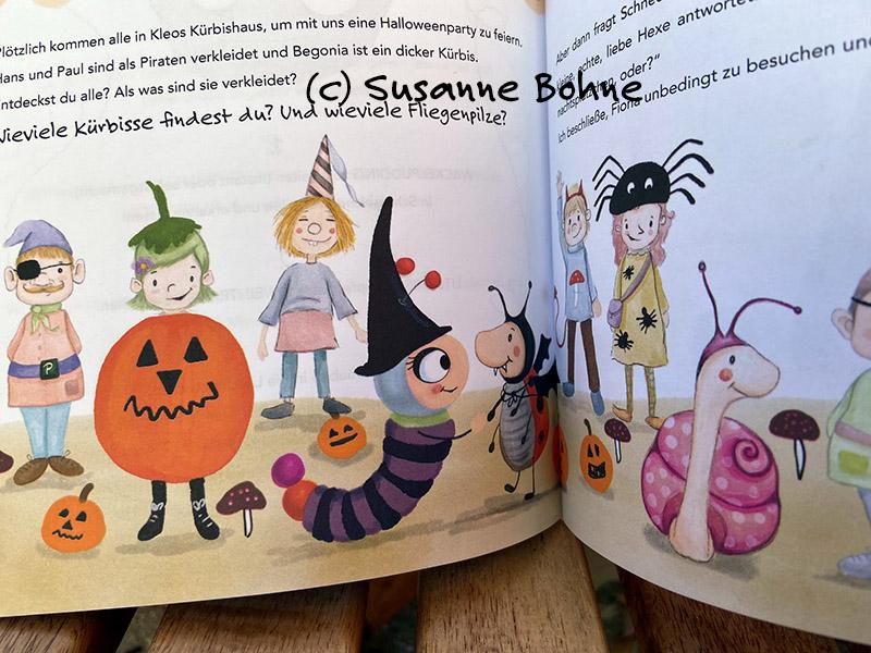 Kochen backen mitmachen mit Wilma Wochenwurm Herbst und Winter Halloweenparty Kinderkochbuch Rezepte