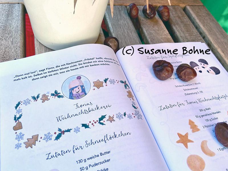 Kochen backen mitmachen mit Wilma Wochenwurm Herbst und Winter Halloweenparty Vanillekipferl Butterplätzchen Kinderkochbuch Pfannkuchen Suppen Rezepte Weihnachtsplätzchen
