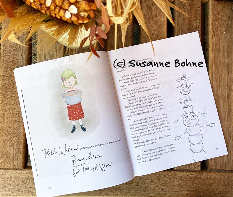 Kochen backen mitmachen mit Wilma Wochenwurm Herbst und Winter Kinderjochbuch Pfannkuchen Suppen Rezepte Weihnachtsplätzchen
