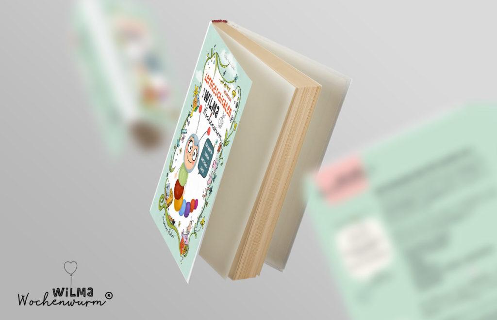 Lerngeschichten mit Wilma Wochenwurm Das wurmstarke Vorschulbuch von Susanne Bohne fliegende Bücher