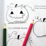 Lerngeschichten mit Wilma Wochenwurm Teil 2 Herbst Winter Halloween Kürbisse_Hallo liebe Wolke_Susanne Bohne_Kinderbuch