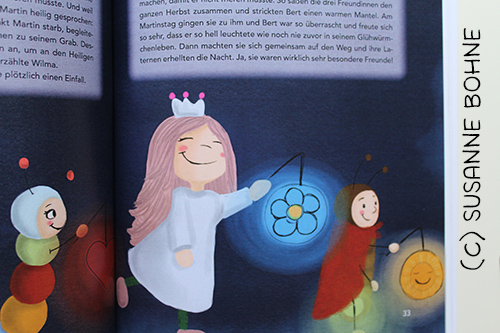Lerngeschichten mit Wilma Wochenwurm Teil 2 Herbst Winter St Martin_Hallo liebe Wolke_Susanne Bohne_Kinderbuch
