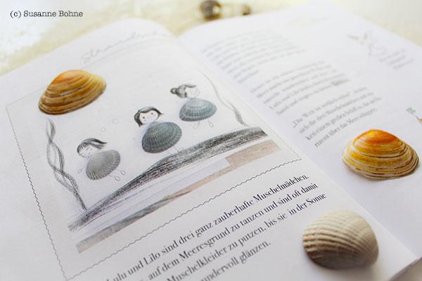 Lerngeschichten mit Wilma Wochenwurm Teil 4 Sommer Urlaub Ferien Kinderbuch Lernheft Strand