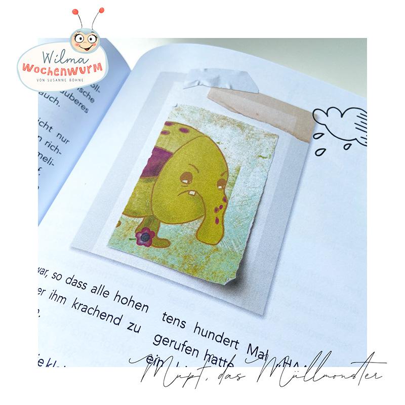 Umweltschutz für Kinder Lerngeschichten mit Wilma Wochenwurm das wurmstarke Sommerbuch Mupf das Müllmonster Susanne Bohne Umweltschutz Klimaschutz Kinder Kind Umwelt Erziehung Kita Kindergarten