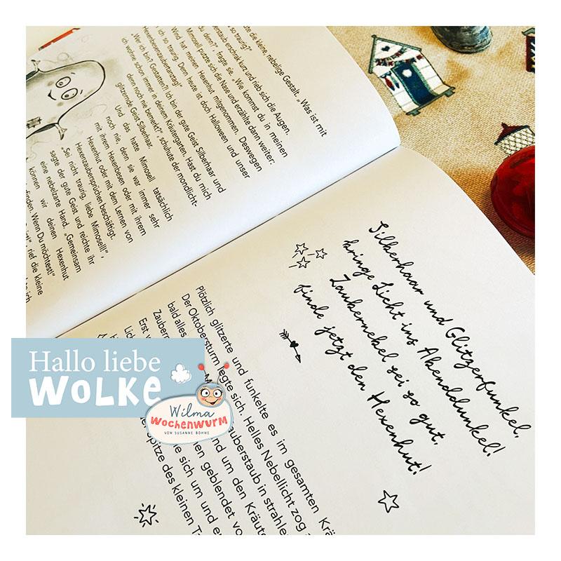 Lerngeschichten mit Wilma Wochenwurm neue Geschichten im Herbst für Kinder ab 4 Jahren in Kita Kindergarten und Vorschule Halloween basteln Kinderbuch Lernheft Fledermaus Hexe Geist Oktober