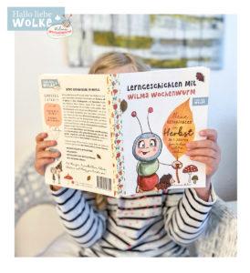 Lerngeschichten mit Wilma Wochenwurm neue Geschichten im Herbst für Kinder ab 4 Jahren in Kita Kindergarten und Vorschule Herbstgeschichten Halloween Hexe Hexenhut basteln Lerngeschichten
