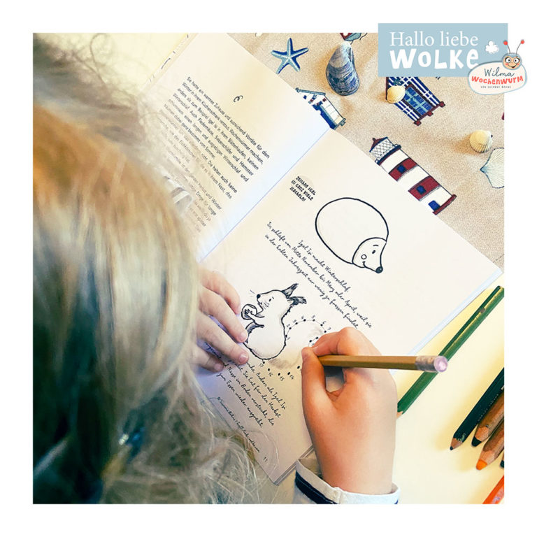 Lerngeschichten mit Wilma Wochenwurm neue Geschichten im Herbst für Kinder ab 4 Jahren in Kita Kindergarten und Vorschule Herbstgeschichten Igel Eichhörnchen Winterschlaf Zahlen verbinden