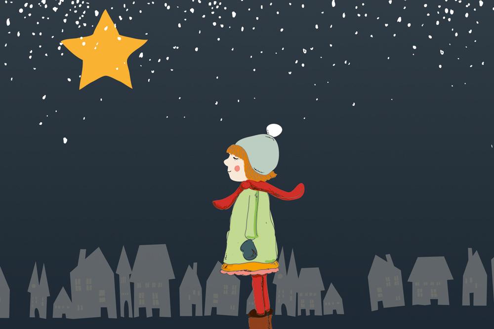 Lina und der Wackelstern Advent Adventsgeschichte Kinder Weihnachten Stern Kita Vorschule Krippe Kind Mamablog