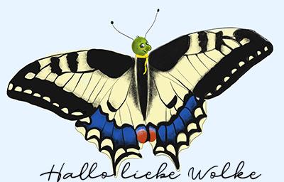 Lukas hat Hunger - Von der Raupe zum Schmetterling - eine Geschichte für Kinder im Kindergarten und Grundschule