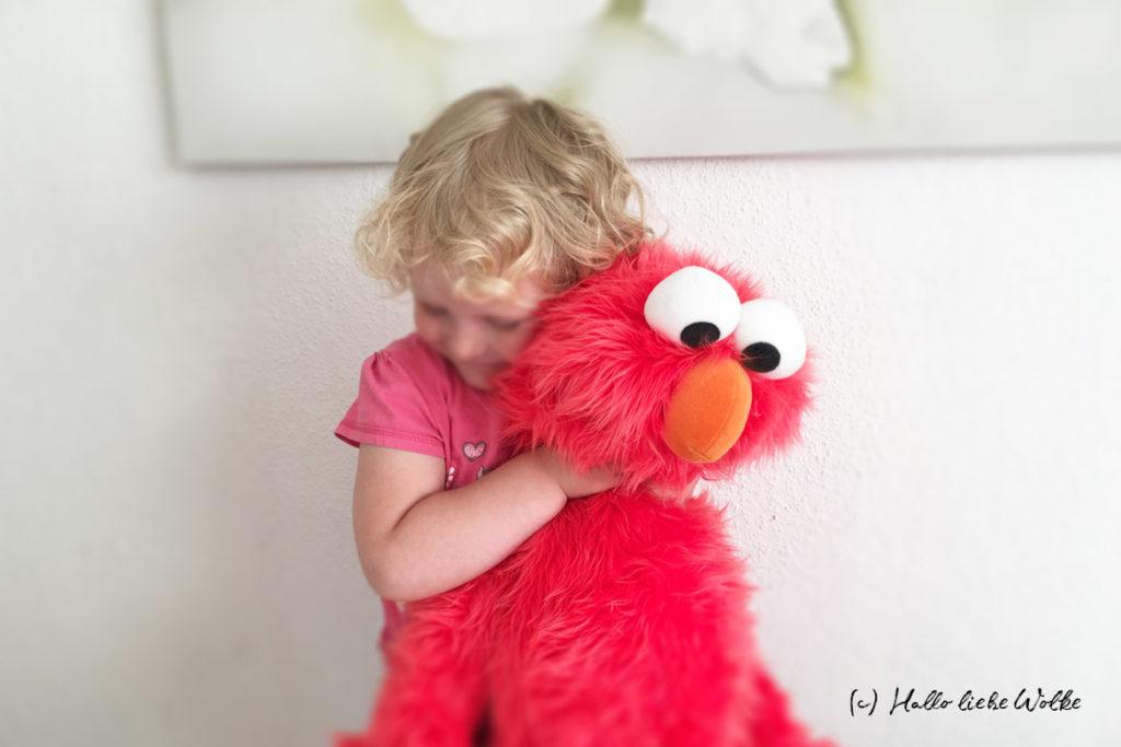 Wenn du dein Kind nicht hättest dann - Mamaliebe und die Zeit - Elmo - (c) Hallo liebe Wolke / Susanne Bohne