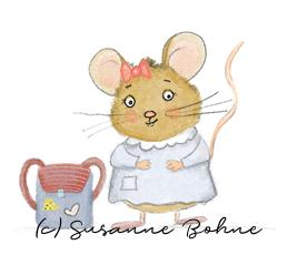 Wilma Wochenwurm Eine Geschichte für die Schultüte Susanne Bohne Maus