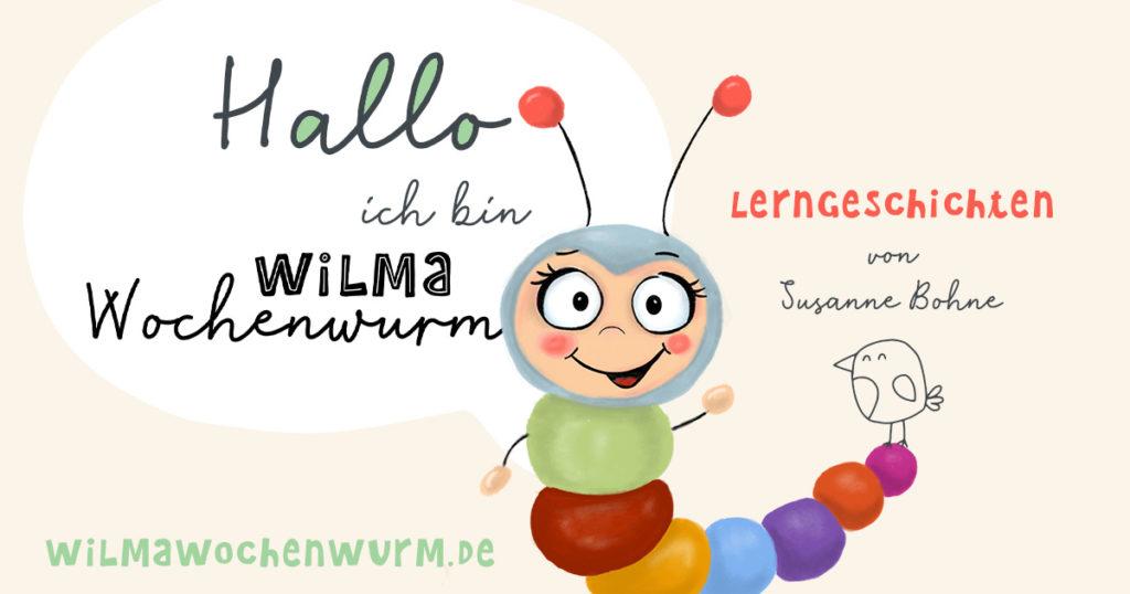 Geschichten für Kinder mit Wilma Wochenwurm