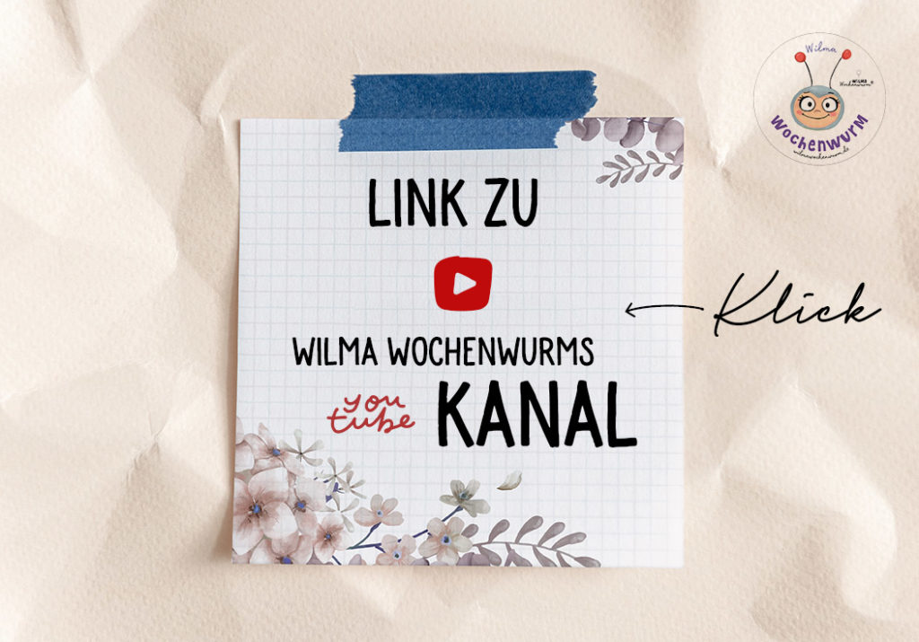 Wilma Wochenwurm YouTube Kanal (c) Susanne Bohne