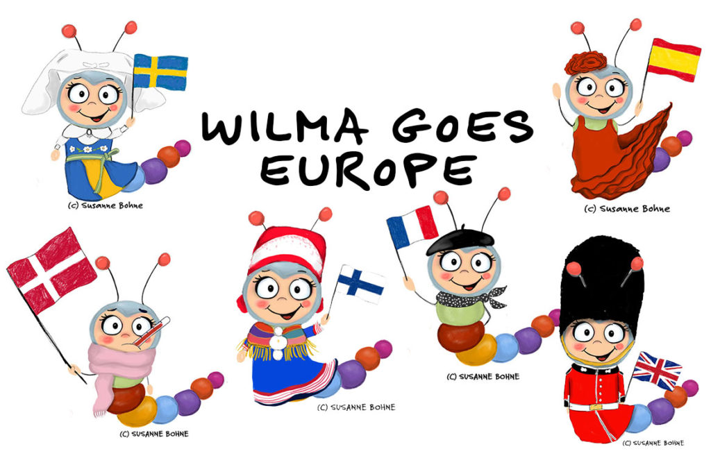Wilma Wochenwurm goes Europe