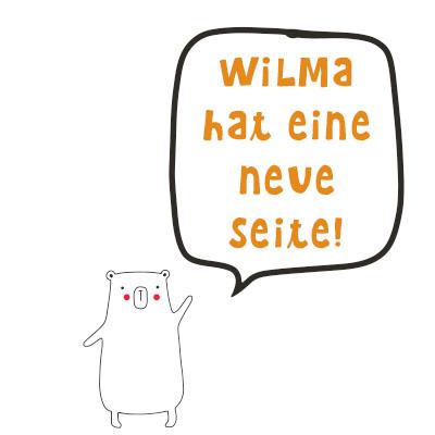 Wilma Wochenwurm neue Internetseite