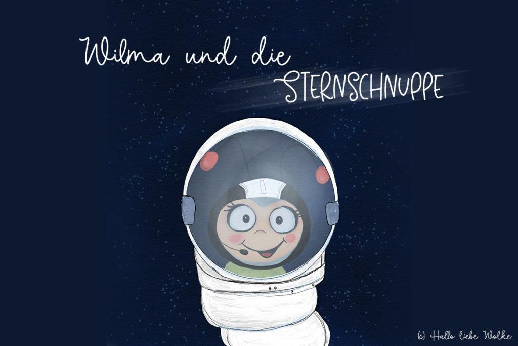 Wilma und die Sternschnuppe - Eine Lerngeschichte für Kinder in Kita und Grundschule - Susanne Bohne - Hallo liebe Wolke
